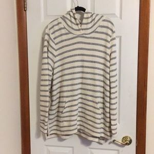 NWT Old Navy High Low Striped Hoodie